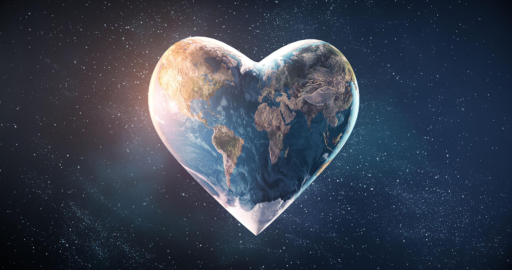 Hjerteformet jordklode